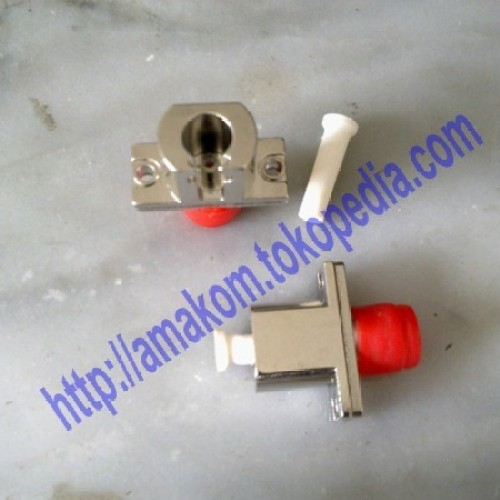 Foto Produk Hybrid Adapter & Optical Bare Fiber Adapter (Metal Type), FC-LC SM dari AMAKOM MEDIA KOMUNIKA