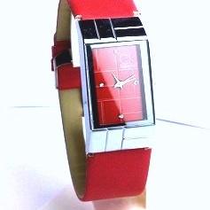 Foto Produk CK SQUARE STRAP LEATHER (RED) dari CITA CHITA
