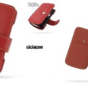 Foto Produk Pdair Original Leather Case Book Blackberry Onyx 9700 / 9780 Red dari Licia Cellular