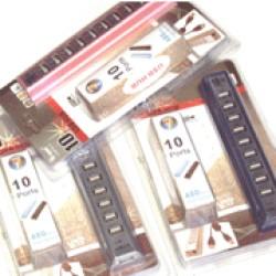 Foto Produk Usb Hub 10 Port + Adaptor dari eight computer