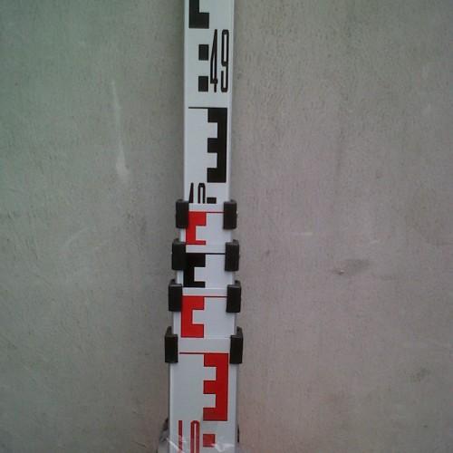 Foto Produk Levelling Stave/ Bak Ukur/ Rambu Ukur (5m) dari Geoamanah Precision