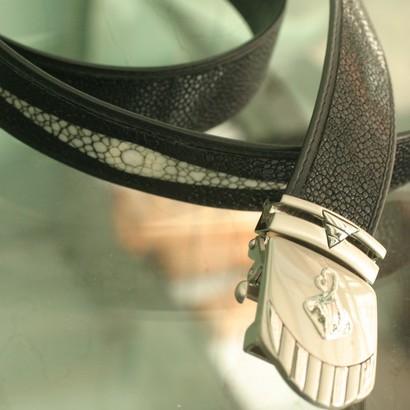Foto Produk Sabuk kulit ikan pari dari Mungil Souvenir&Gift