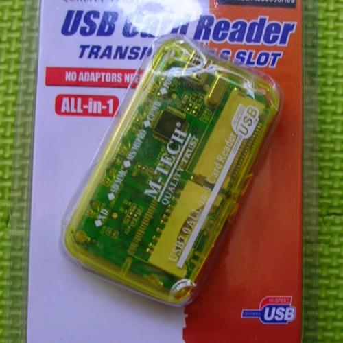 Foto Produk USB Card Reader (Untuk Berbagai Jenis Kartu Memori, 6 Slot) dari Tokoku-Tokomu