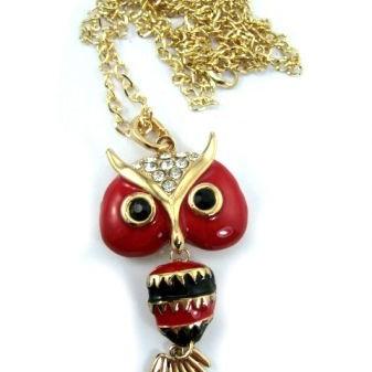 Foto Produk Kalung OWL Red dari Jualan Sprei