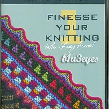 Foto Produk Finesse Your Knitting (2 DVD)   DVD panduan untuk meningkatkan kemampuan merajut dari Tokobukuplus