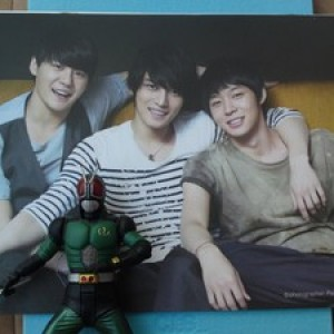 Foto Produk JYJ (Jaejoong Yuchun Junsu) - 3HREE VOICES II Photo Story = 1DVD dari Haruna88 Online Shop