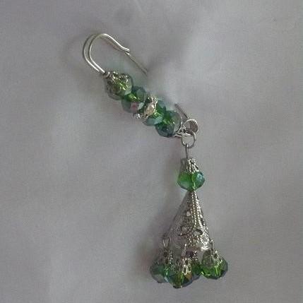 Foto Produk Bros peniti untai kristal (PL-022) dari Novita's Shop