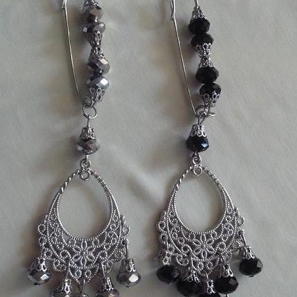 Foto Produk Bros peniti untai kristal (PL-024) dari Novita's Shop