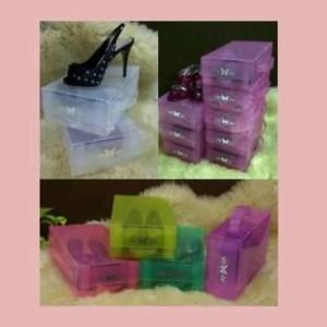 Foto Produk Kotak Sepatu Transparan Basic M warna dari Nuning Ningrum Shop