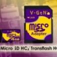 Foto Produk V-GEN Micro SD 8 GB -  Adapter dari Acckomputer