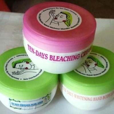 Foto Produk Tendays Paket Whitening Grosir 50RB!!! **Dengan Sabun Scrub 200gr** dari Bogor Butik