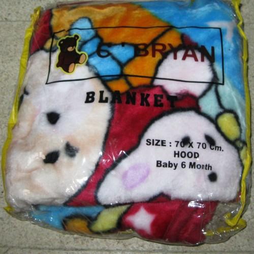Foto Produk Selimut Bayi C'BRYANT Ukuran 70 x 70 Cm (Selimut Jepang) dari Tris Baby Shop