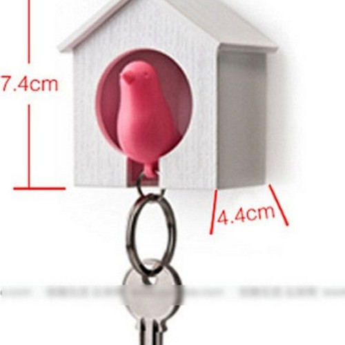 Foto Produk Barang Unik - Gantungan Kunci - Bird House Key Chain dari ViAndSun Shop