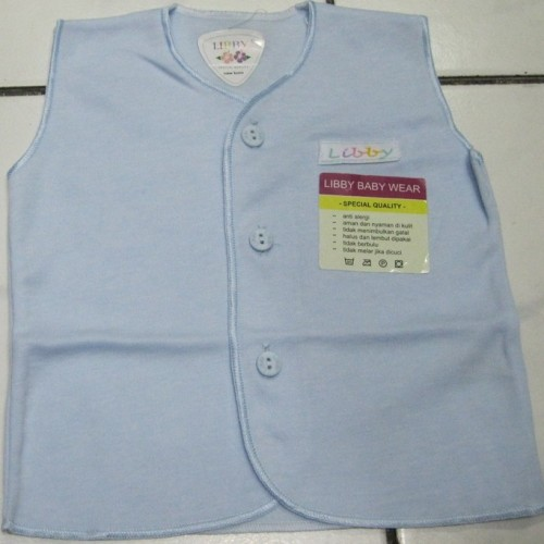 Foto Produk Baju Bayi Kutung LIBBY (0 - 3 Bulan) Polos Warna. dari Tris Baby Shop
