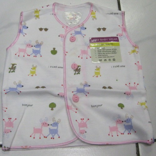 Foto Produk Baju Bayi Kutung LIBBY (0 - 3 Bulan) Corak. dari Tris Baby Shop
