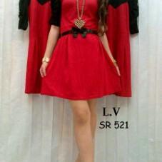 Foto Produk dress lv521+belt dari PrincessBoutique