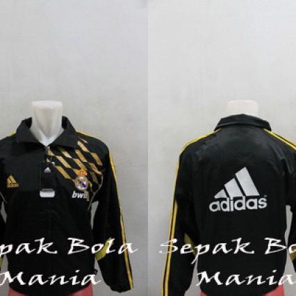 Foto Produk Jaket KW Thailand Parasut Real Madrid Hitam 005 dari Sepak Bola Mania