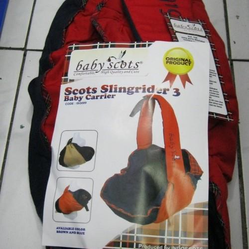 Foto Produk Gendongan Bayi BABY SCOTS Keong dari Tris Baby Shop