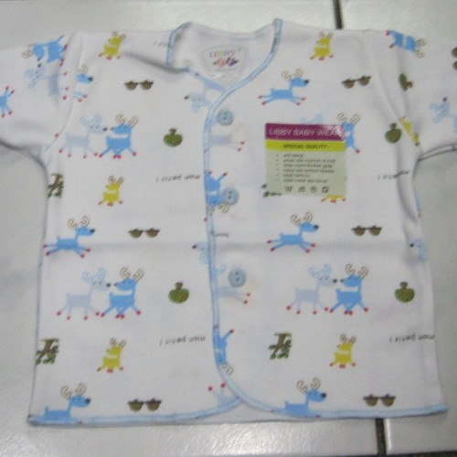 Foto Produk Baju Bayi Tangan Pendek LIBBY (0 - 3 Bulan) Corak dari Tris Baby Shop