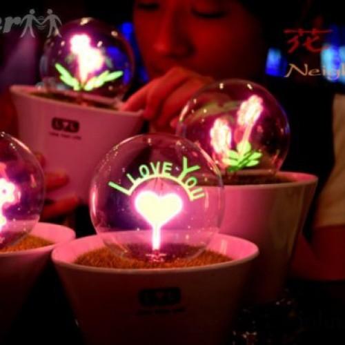 Foto Produk Barang Unik - Lampu Unik - Lucu Lampu LYL Love dari ViAndSun Shop