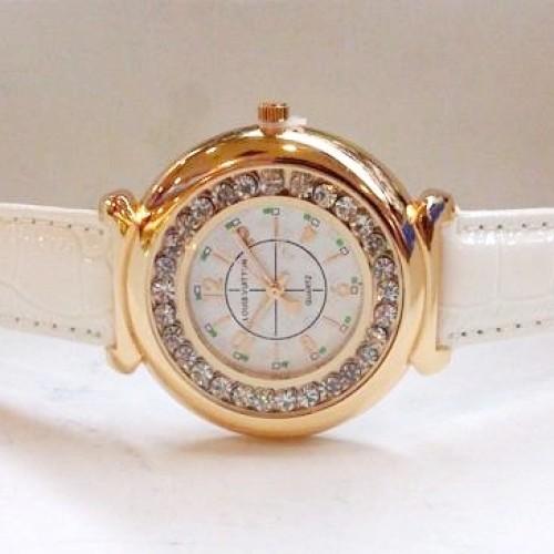 Foto Produk Jam Tangan Wanita Louis Vuitton Chanted Leather (White Gold) dari Twinkling
