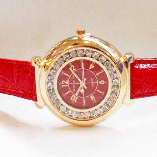 Foto Produk Jam Tangan Wanita Louis Vuitton Chanted Leather (Red Gold) dari Twinkling