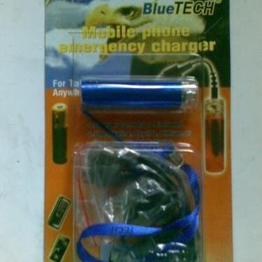 Foto Produk BLUETEC EMERGENCY CHARGER PHONE, Mengisi Batrai Hp Tanpa Listrik dari Elizabeth Store