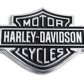Foto Produk Emblem Harley Davidson dari BOBandPOP