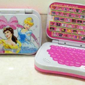 Foto Produk Mini Laptop Princess dari Bee Shop - Mainan Anak