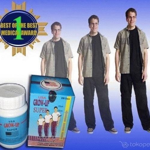 Foto Produk Peninggi Badan Grow Up USA Orignal (Formula Baru Dengan Bentuk Softgel) dari Haekal Shop