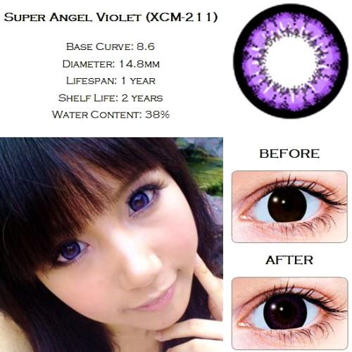 Foto Produk Softlens Geo Super Angel Violet (Ungu) dari Geo Eyes