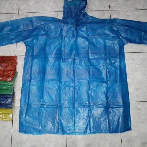 Foto Produk !!!MURAH!!! Jas Hujan Plastik Ponco Tangan Isi 12pcs dari Unique Corporation
