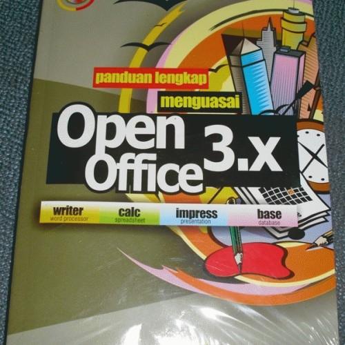 Foto Produk buku panduan dan cd open office 3.x original dari Nine9shop