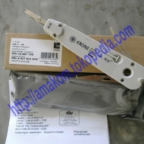Foto Produk Insertion Tool LSA Plus KRONE Type JA-4018A Brown Box dari AMAKOM MEDIA KOMUNIKA
