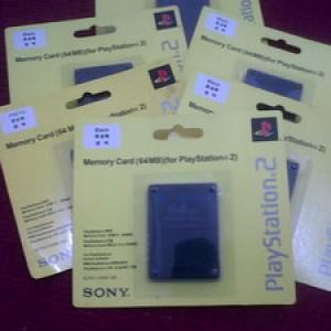 Foto Produk MEMORI CARD PS2 64 MB WARNA HITAM dari WORLD GAME