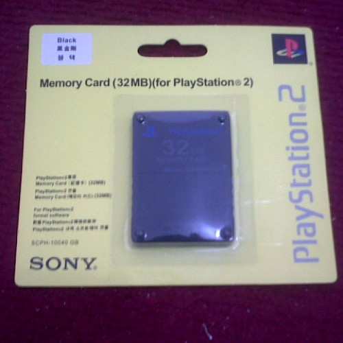 Foto Produk MEMORI CARD PS2 32 MB dari WORLD GAME