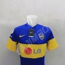 Foto Produk Boca Juniors Home 2011 - Baju Bola - Kaos Bola - Jersey Bola dari Yajimbo