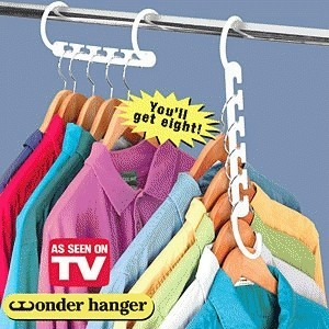 Foto Produk New Wonder Hanger (1pak isi 8 pcs) dari GROSIR AFM INDONESIA