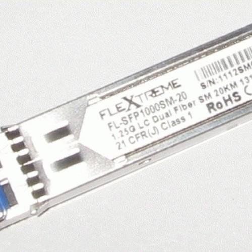 Foto Produk Flextreme FL-SFP1000SM: SFP Module 1000BaseLX Single Mode dari Master Networks
