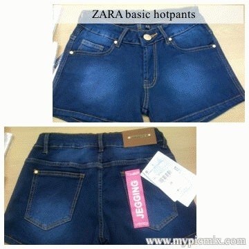 Foto Produk ZARA BASIC HOTPANTS dari Diamonddon shop