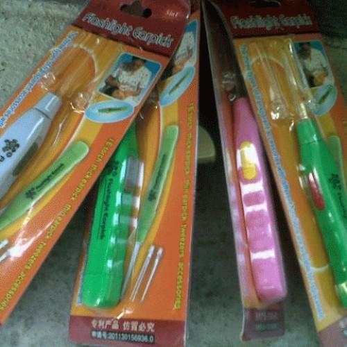 Foto Produk flaslight earpick dari Bambu