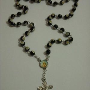 Foto Produk rosary yellow flower spot on black dari Ansalina Handmade
