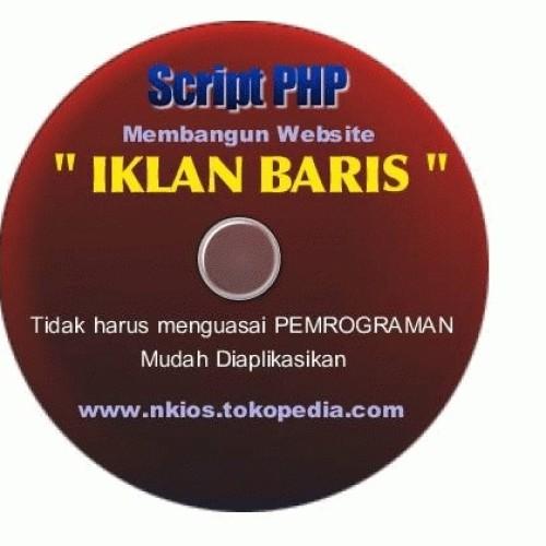 """Foto Produk Script PHP """"IKLAN BARIS"""" dari rlsdn-2638"""
