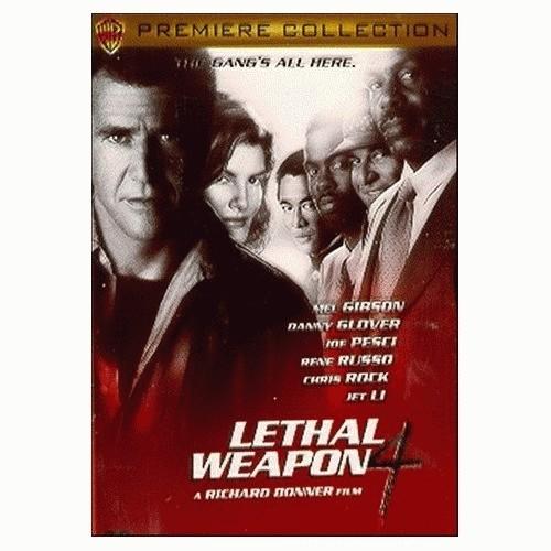 Foto Produk Lethal Weapon 4 (MLA001D/1998) dari Kemang DVD Premium