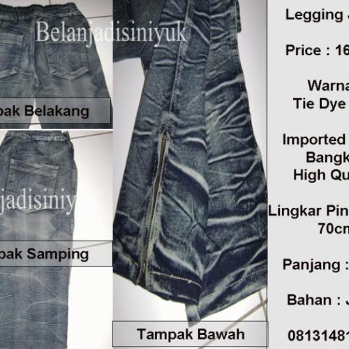 Foto Produk Acid Legging Jeans dari Belanjadisiniyuk