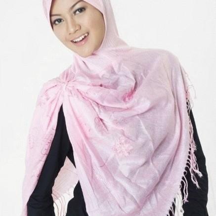 Foto Produk Jilbab trendy turkish style merah muda/pink dari rlsdn-3091