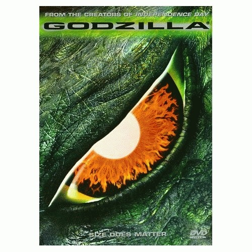 Foto Produk Godzilla (MGA018/1998) dari Kemang DVD Premium