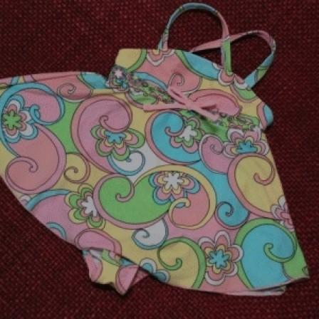 Foto Produk Baju Renang Dress Bunga Pink, 12 bulan dari My 1st Style - Kids Wear