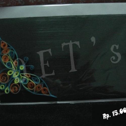 Foto Produk kartu hitam-Kupu 1 dari rlsdn-3298