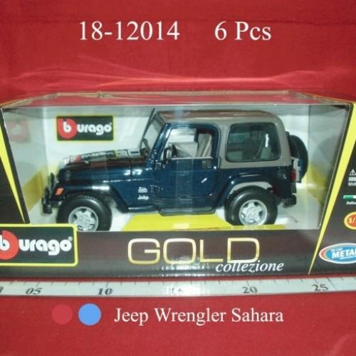 Foto Produk Jeep Wrangler Sahara(BBURAGO) dari Tunggal Jaya Toys